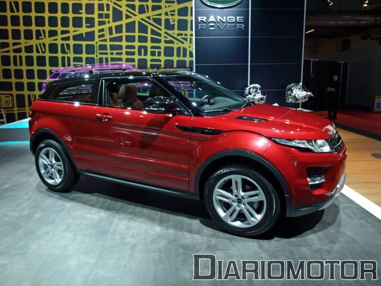 Range Rover Evoque en el Salón de Barcelona