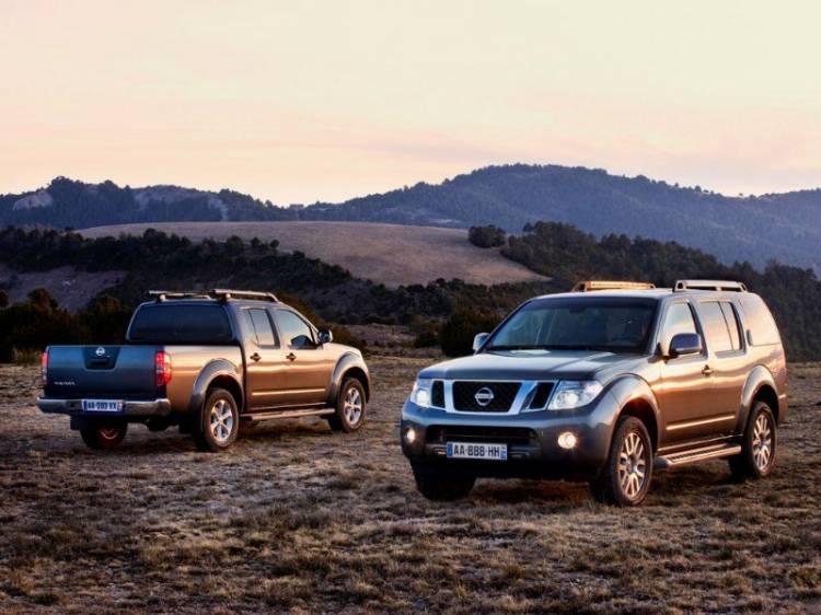 Lavado de cara para Nissan Pathfinder y Navara