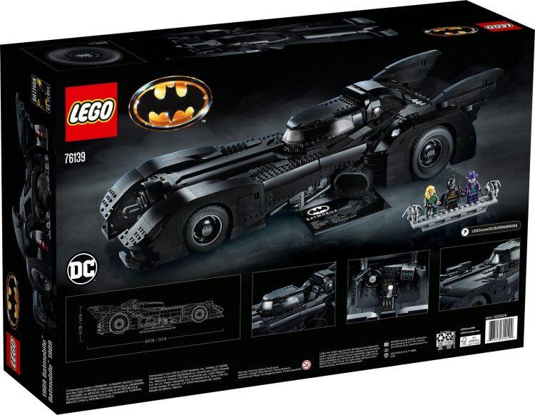 Lego Batmovil 1989 10