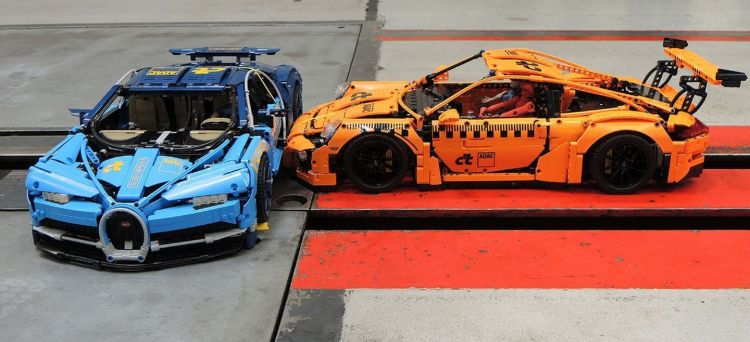 Lego Crash Test Chiron 911 P