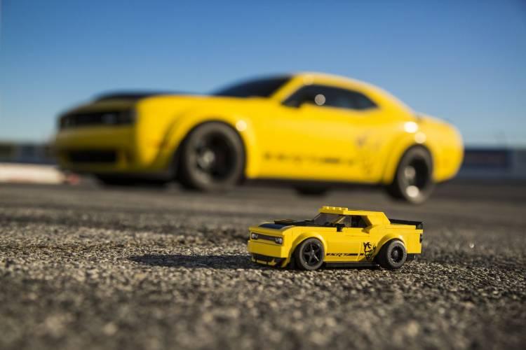 Lego Dodge Speed Champions Dm 5