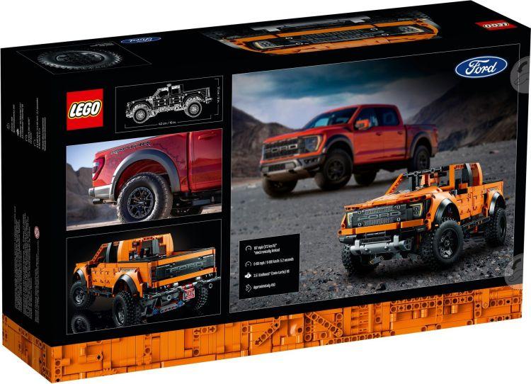 Lego F 150 Raptor 2021 2