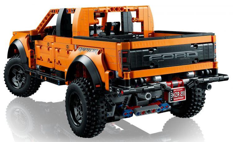 Lego F 150 Raptor 2021 4