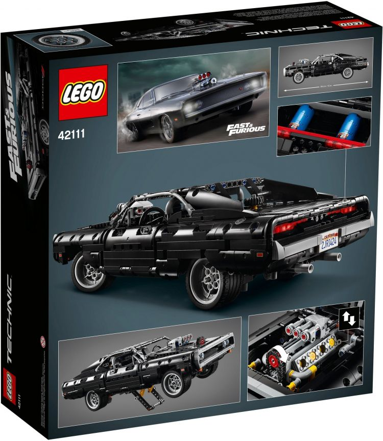Lego Fast And Furious Dodge Charger 8