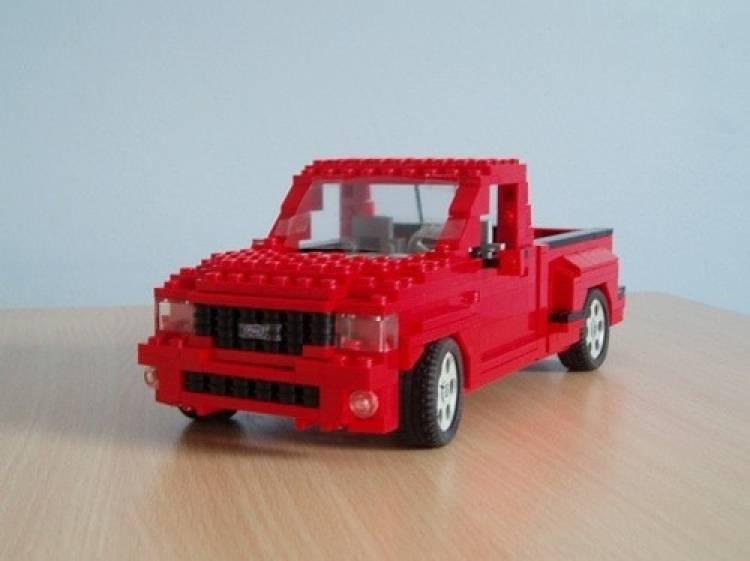 Coches A Escala Con Piezas De Lego Diariomotor