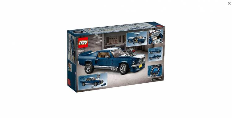 Lego Ford Mustang 1967 Dm 2