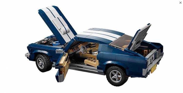 Lego Ford Mustang 1967 Dm 3
