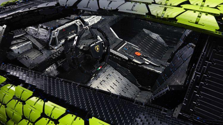 Lego Lamborghini Sian Tamano Real 24