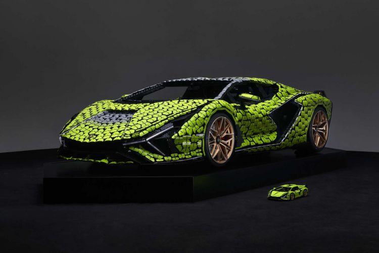 Lego Lamborghini Sian Tamano Real 25