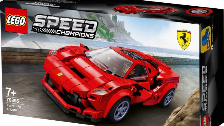 Lego Speed Champion 2020 Ferrari 2