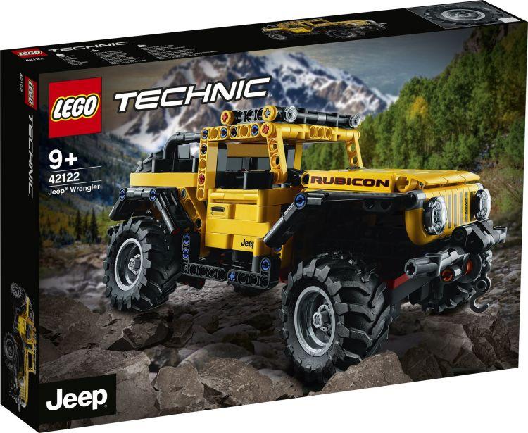 Lego Technic Jeep Wrangler 1