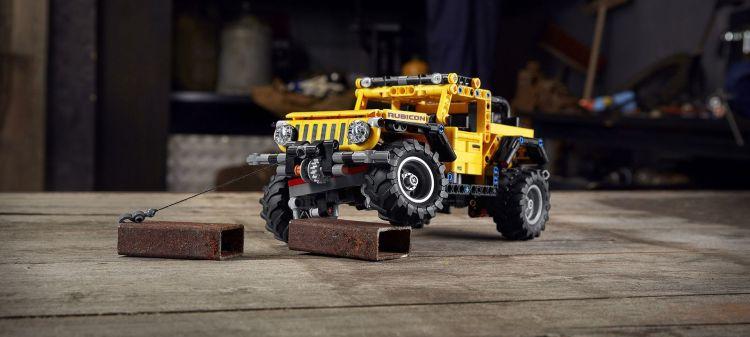 Lego Technic Jeep Wrangler P