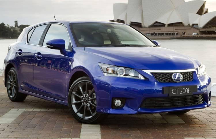 Lexus CT 200h F Sport para Australia