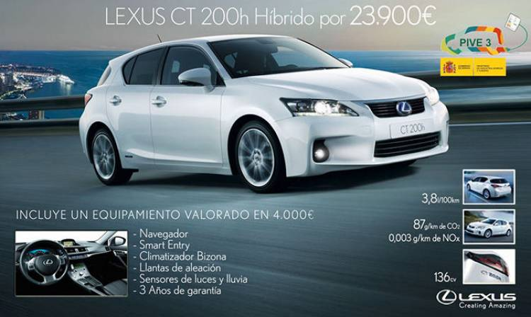 Lexus CT200h Move