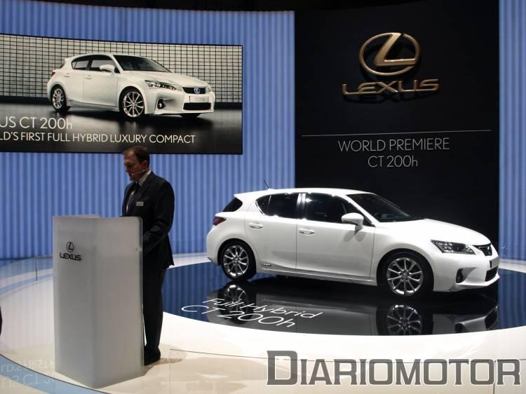 Lexus CT 200h, premiere en Ginebra