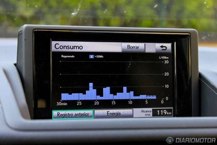 Lexus CT 200h, a prueba (II)