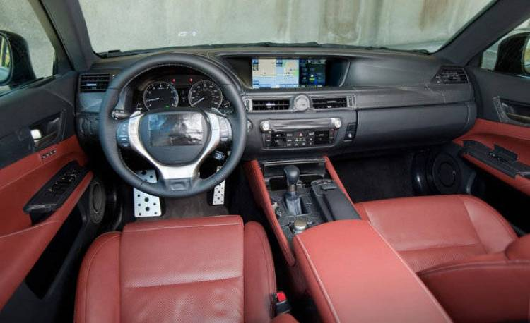Interior Lexus GS 2012