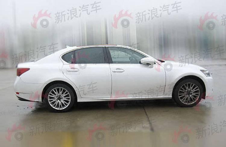 Fotos espía Lexus GS 350
