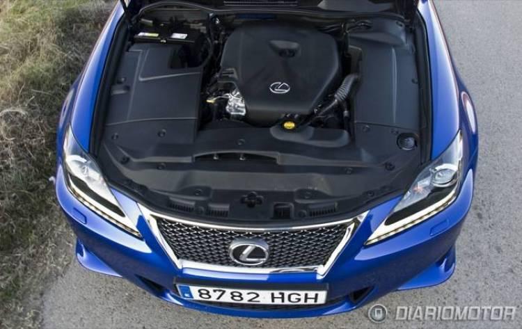 Lexus IS200D F-Sport a prueba