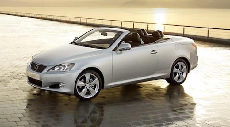 Lexus IS250C 2011