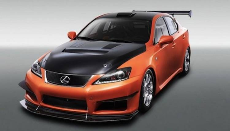 Lexus IS-F Circuit Club Sport Racer