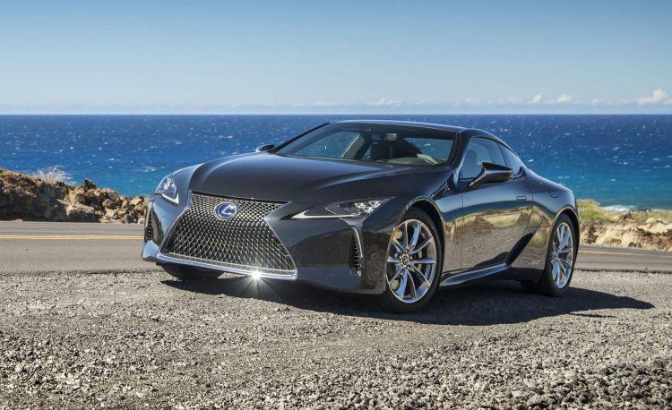 Lexus Lc 500h Gris