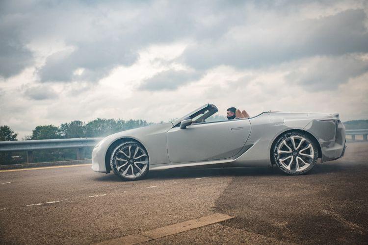 Lexus Lc Cabrio Test Congelacion Hielo 18