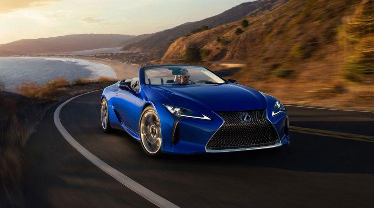 Lexus Lc Convertible Azul