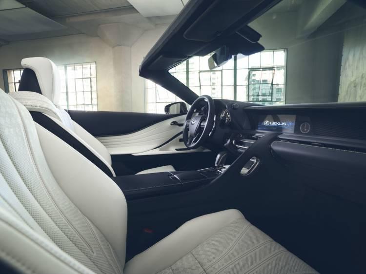 Lexus Lc Convertible Concept Interior 1