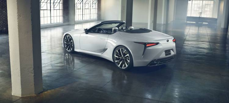 Lexus Lc Convertible Concept P