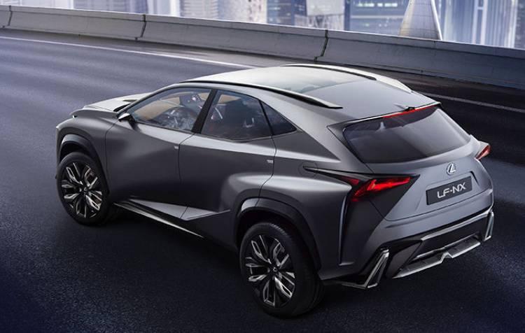 Lexus LF-NX: la versión de producción estará en el próximo Salón de Ginebra