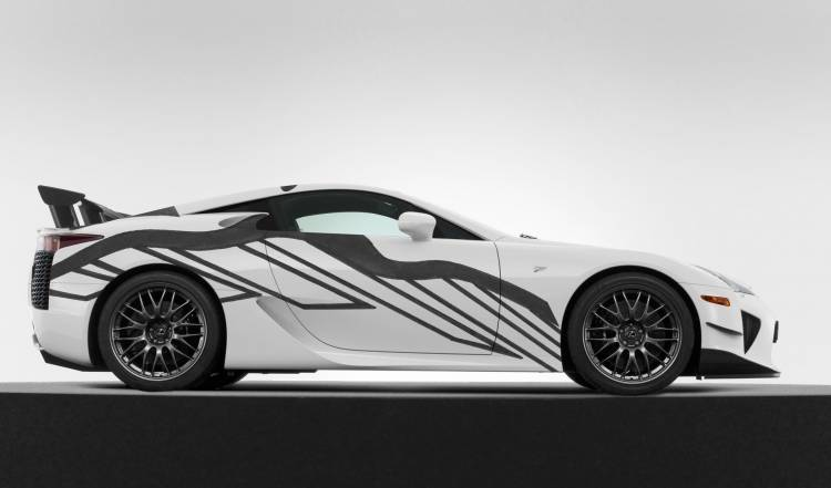 Lexus Lfa Art Car 2