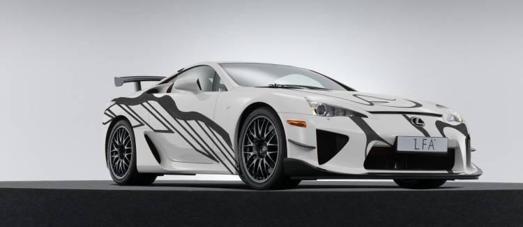 Lexus Lfa Art Car P