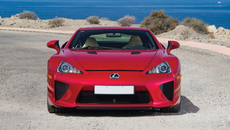Lexus Lfa Frontal 0119 01