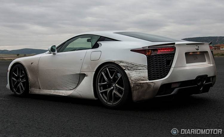 Todo lo aprendido sobre fibra de carbono con el Lexus LFA se aplicará a otros modelos