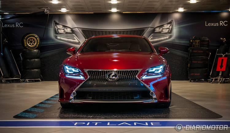 Lexus RC y RC F