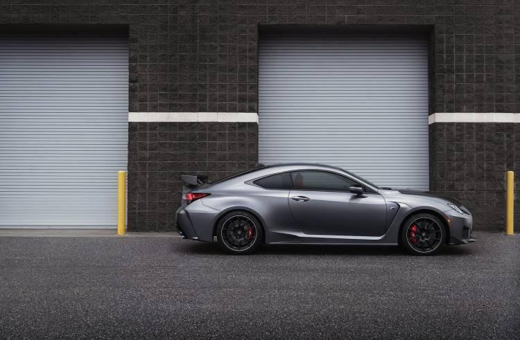Lexus Rc F 2019 Track Edition Gris 08