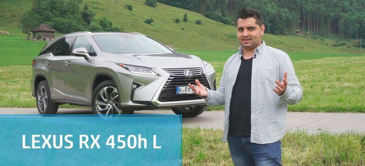 Lexus Rx 450h L Prueba Video