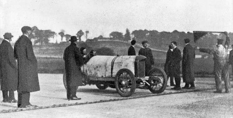 Récord de velocidad en 1909, Lightning Benz