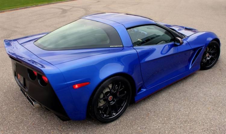 Lingenfelter Twin-Turbo Specter Werkes Corvette GTR