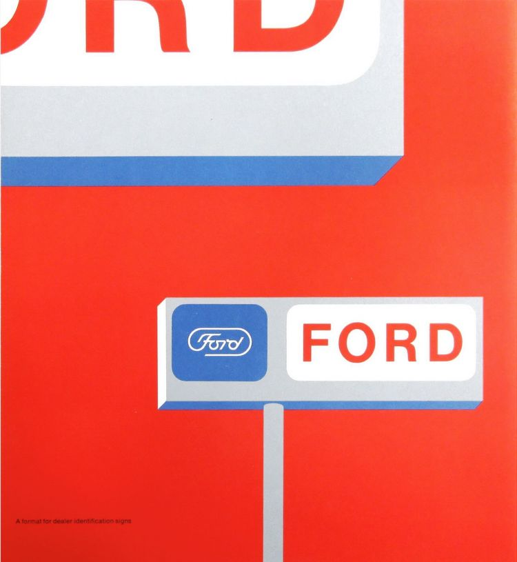 Logotipo Ford Paul Rand 4