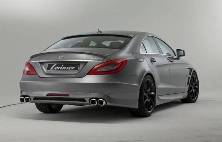 La elegante interpretación del Mercedes CLS por parte de Lorinser