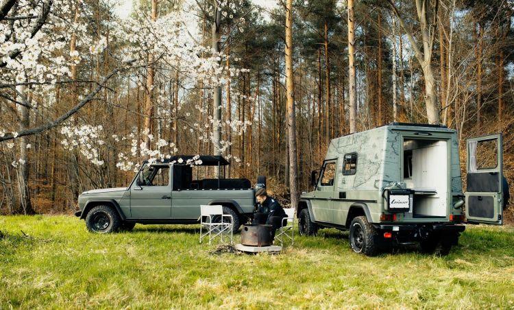 Lorinser Puch Mercedes Clase G Camper 2020 20