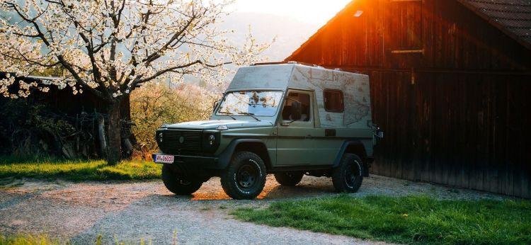 Lorinser Puch Mercedes Clase G Camper 2020 P