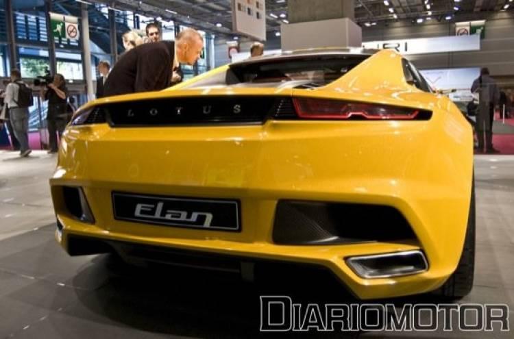 Lotus Elan en el Salón de París