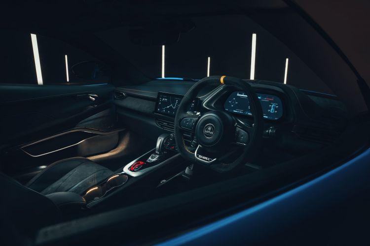 Lotus Emira 2022 Interior 2