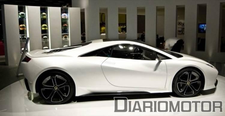 Lotus Esprit Concept en París