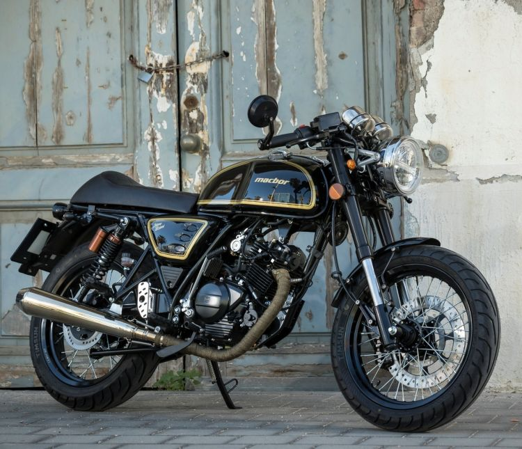 Macbor Johnny Be Good 125 05 Oferta Motos 125 Cafe Racer Abril 2021