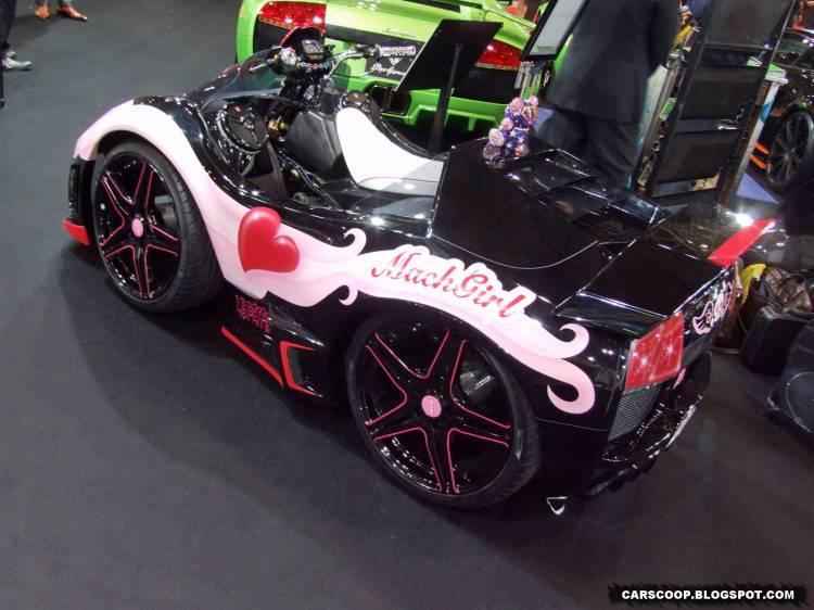 Quad Mach Girl basado en el Lamborghini Murciélago