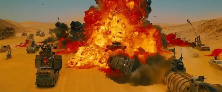 La nueva película de Mad Max promete el mejor caos automovilístico de los últimos años